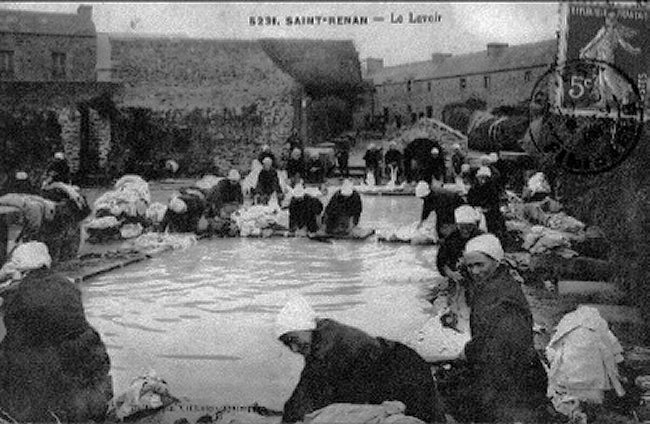 A lavoir once very busy
